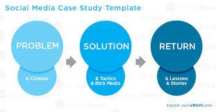 Case Study Template Social Media Case Study Template