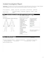 Accident Template Vehicle Incident Report Form Template