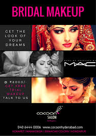 bridal makeup packages at co salon hyderabad