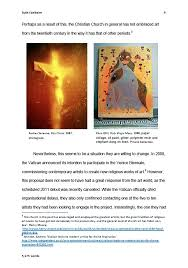 church and contemporary art an essay by ruth fairbairn home richard bagguleys art > church and contemporary art an essay