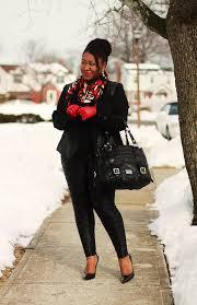 plus size leather pants casual outfit idea