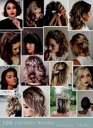 Idée Coiffure Carré Nouveaut De Coiffure Mariage Cheveux Mi