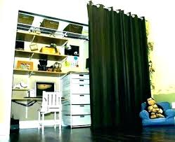 using curtains instead of closet doors curtain bedroom door ideas for bedrooms simple laundry closet curtains