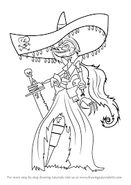 learn how to draw scardelita sanchez from the book of life the book of life step by step drawing tutorials