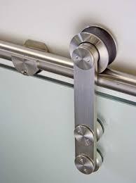stainless steel sliding door hardware for glass door with free 98 4 track