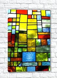 beach glass art prints canvas multicolored stained photo at glass art
