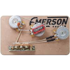 emerson custom stratocaster 5 way blender prewired kit tubedepot com Emerson Pre Wired 5 Way Strat Switch Wiring Diagram gp ec s5 b 250k 2