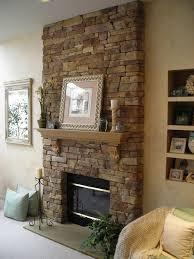 faux fireplace stone veneer