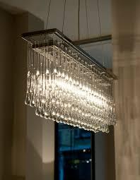 light drizzle chandelier rectangular 100