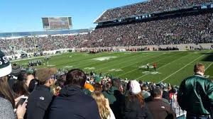 Spartan Stadium Section 21 Home Of Michigan State Spartans
