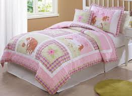 horse comforter sets for girls bedding in pink love my quilt twin or full queen with 2