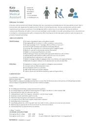 Medical Assistant Resume Templates Adorable Sample Cover Letter For Medical Assistant Job Medical Assistant