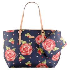 Lyst - Radley Autumn Rose Leader Shopper Bag in Blue