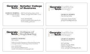 tech business card student business cards licensing trademarks georgia