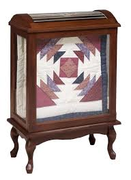 Solid Wood Amish Quilt Rack & Amish Queen Anne Medium Quilt Rack Adamdwight.com
