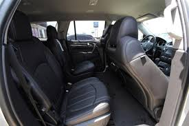 2013 buick enclave interior. buick enclave 2nd row bucket seats passenger side interior perforated ebony leather 2013