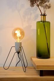 Tafellamp Bega Aansluitzuil Met Stopcontacten Tafellampen