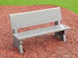 granite stone garden bench midland stone