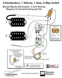 guitar wiring diagrams 2 pickups pickup wiring diagrams \u2022 wiring strat wiring diagram 5 way switch at Humbucker Pickup Wiring Diagram