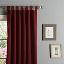 aurora home 52 inch x 95 inch tab top thermal insulated blackout curtain panel pair free today com 12329781