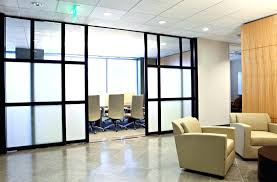 decoration Wood Office Partitions Slide Background Partition Design