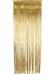 Gold Foil Door Curtain | Party Fever