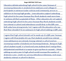 page essay writing page essay org writing sample 3 page 1