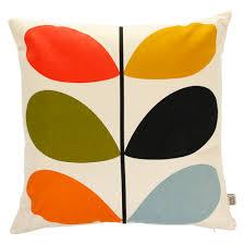 living room orla kiely multi: orla kiely multi stem cushion xcm   at amara