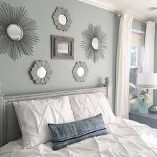 master bedroom color ideas.  Bedroom Silvermist SW 7621  SherwinWilliams Idea Of Lots Different Mirrors Is  Cool Inside Master Bedroom Color Ideas
