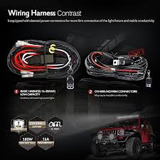 mictuning led light bar wiring harness 40amp relay on off strobe mictuning led light bar wiring harness 40amp relay on off strobe remote control switch 2lead 12ft in the uae see prices reviews and buy in dubai