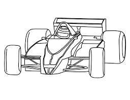 Simple Race Car Drawing At Getdrawingscom Free For Personal Use