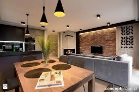 dom w rudzie Śląskiej realizacja jadalnia styl nowoczesny zdjęcie od conceptgroup