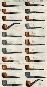 Shape Chart Page 14 Dr Grabow Pipes