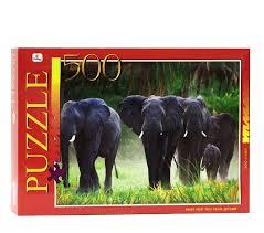АКЦИЯ19 Пазл 500 П0500513 Африканские <b>слоны</b>: купить в ...
