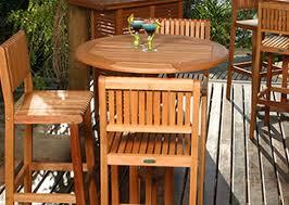 wood patio bar set. Diy Patio Bar Table Wood Set Eucalyptus U