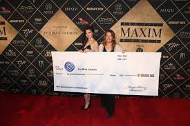 maya henry spearheaded fundraising for tree a foundation at 2017 maxim party silent auction