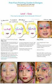 how to face paint a princess
