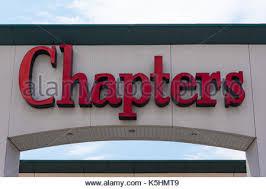 Chapters Indigo Bookstore Stock Royalty Free Image