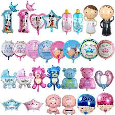 Details About Baby Shower Happy Birthday Theme Party Decor Stroller Its A Boy Girl Letters F