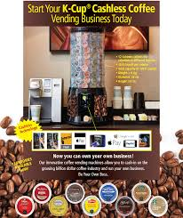 Coffee Vending Machine Business For Sale Classy Cashless Coffee Vending Machine Business