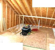 attic flooring ideas floor newly covered with plywood to master bath transformation bathroom idea low ceiling attic bedroom ideas