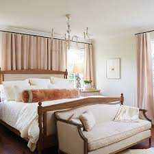 Blush Pink Curtains In Bedroom