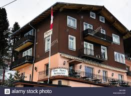 Alpina Hotel Hotel Alpina Rigi Kaltbad Vitznau Switzerland Stock Photo Royalty