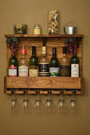 pallet wine glass rack. Unique Pallet Country Rustic Wood 7 Bottle Wine Rack By DansRusticCreations 9000 With Pallet Glass