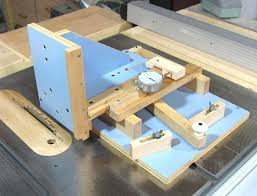 mortise and tenon jig for table saw. homemade adjustable tenon jig for tablesaw | woodworking pinterest homemade, search and mortise table saw r