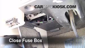 interior fuse box location jeep grand cherokee  5 test component secure the cover and test component