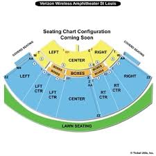 Riverport Amphitheater St Louis Seating Chart