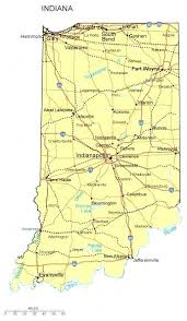 Cities Of Indiana Map Wineandmore Info