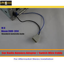 popular nissan radio wiring buy cheap nissan radio wiring lots for nissan frontier gt r juke maxima car radio antenna adapter aftermarket