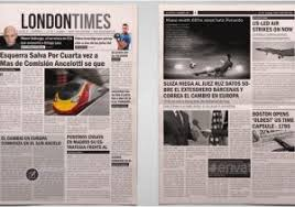 Newspaper Template Indesign A3 Newsletter Template Newspaper Template A4 And A3 Format 10 Pages